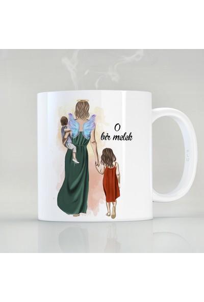 Flustore Anneler Günü Anneye Hediye Özel Tasarım Kupa Bardak