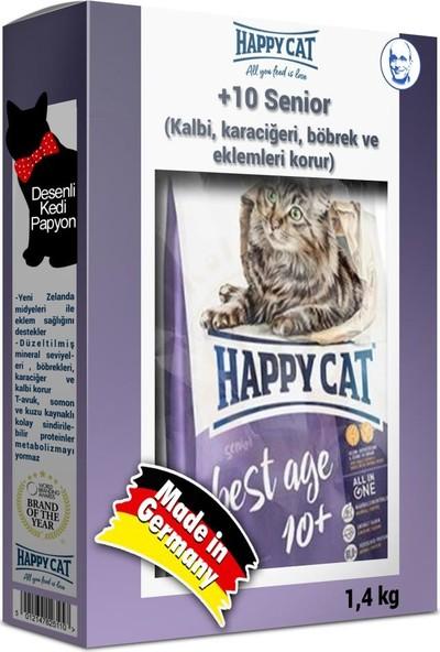 Happycat Best Age 10+ Senior Koruyucu Yaşlı Kedi Maması 1,4 kg