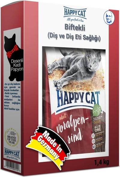 Happycat Voralpen Rind Biftekli Diş Sağlığı Kedi Maması 1,4 kg