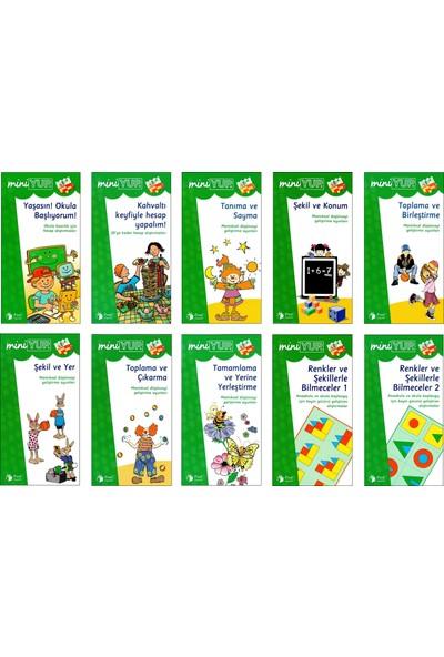 Önel Yayıncılık Miniyup 6+ Yaş Eğitim Seti 1 Ahşap Panel + 10 Kitapçık