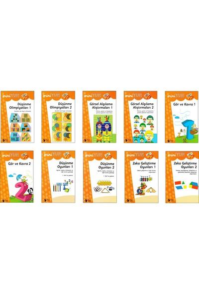 Önel Yayıncılık Miniyup 7+ Yaş Eğitim Seti 1 Ahşap Panel + 10 Kitapçık