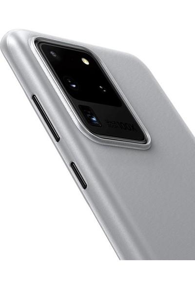 Baseus Samsung Galaxy S20 Ultra Wing Case İnce Matte Pp Kılıf WISAS20U-02