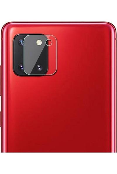 Ally Samsung Galaxy A81-Note 10 Lite Tempered Cam Kamera Koruyucu AL-31972