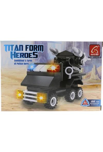 Ausini Titan 292 Parça Polis Robot 25521-R