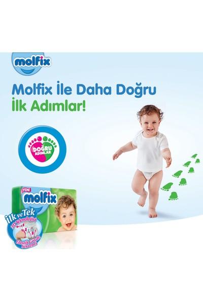 Molfix Bebek Bezi 4+ Beden Maxi Plus Aylık Fırsat Paketi 136 Adet