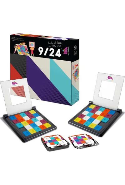 Zet Zeka 9/24 (Rubik) Eğlenceli Zeka, Dikkat, Akıl, Mantık ve Strateji Oyunu 3 Yaş ve Üzeri