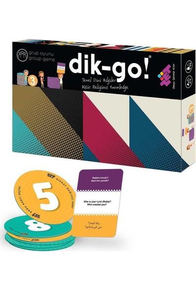 Zet Zeka Dik-Go (Dini Bilgiler) Dikkat, Zeka, Akıl, Mantık ve Strateji Oyunu 5 Yaş ve Üzeri