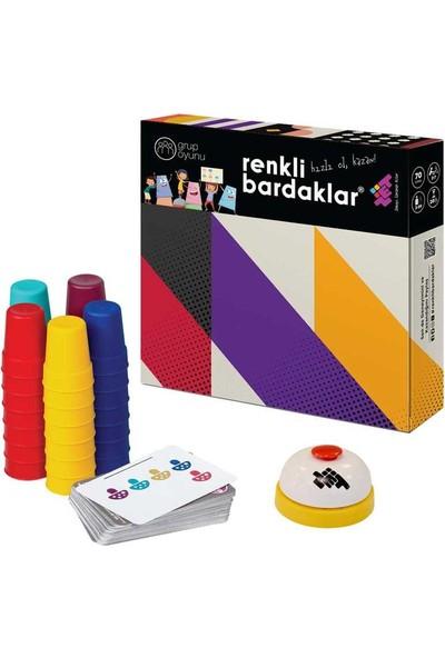Zet Zeka Renkli Bardaklar Eğlenceli, Zeka, Akıl, Mantık ve Strateji Oyunu 3 Yaş ve Üzeri 7 Kişilik