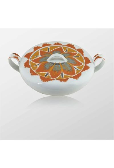 Missoni By Richard Ginori Aladdin Kapaklı Porselen Çorba Kabı 3Lt.