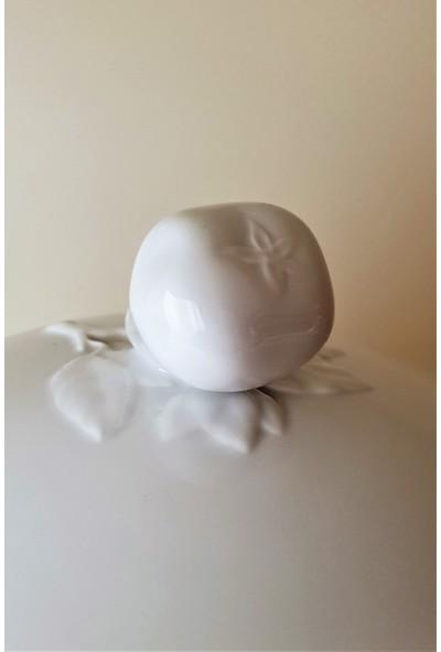 Richard Ginori Museo Beyaz - Kapaklı Porselen Çorba Kabı 5,25 Lt.