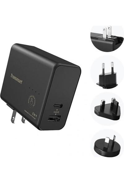 Tronsmart WPB01 5000 mAh Powerbank + Type-C Duvar Tipi Şarj Cihazı