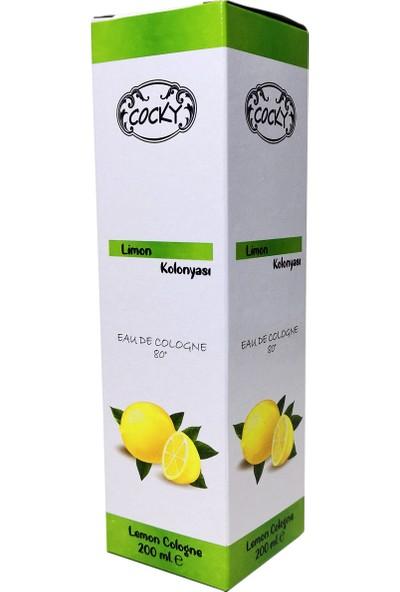 Cocky Limon Kolonya 4'lü Set 200 ml