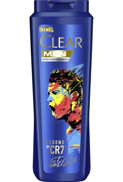 Clear Men Legend by Crtistiano Ronaldo Şampuan 600 ml