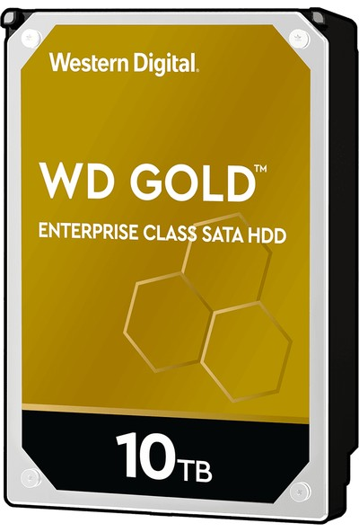 "WD Gold Enterprise 10TB 3.5"" Sata 3 7200RPM 256MB Sabit Disk (WD102KRYZ)"