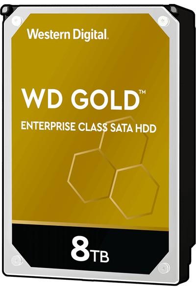"""WD Gold Enterprise 8TB 3.5"""" Sata 3 7200RPM 256MB Sabit Disk (WD8004FRYZ)"""
