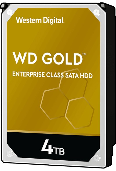 "WD Gold Enterprise 4TB 3.5"" Sata 3 7200RPM 256MB Sabit Disk (WD4003FRYZ)"