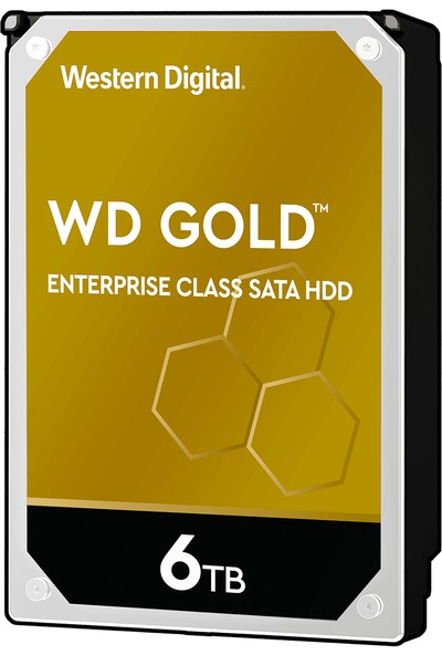 "WD Gold Enterprise 6TB 3.5"" Sata 3 7200RPM 256MB Sabit Disk (WD6003FRYZ)"
