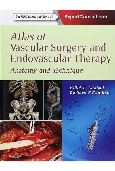 Atlas Of Vascular Surgery And Endovascular Therapy : Anatomy And Technique - Elliot L. Chaikof