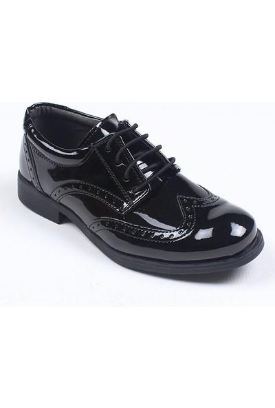 Chaton D'or Erkek Çocuk Bağcıklı Rugan Ayakkabı
