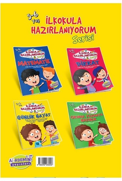 Ilkokula Hazırlanıyorum Okul Öncesi Eğitim Kitabı Günlük Hayat - 3 - 6 Yaş
