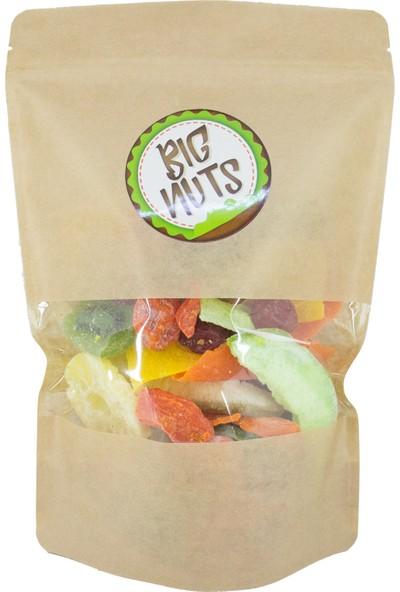Big Nuts Tropikal Kurutulmuş Karışık Meyve Kurusu 500 gr