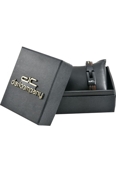 Deri Company Black Bileklik