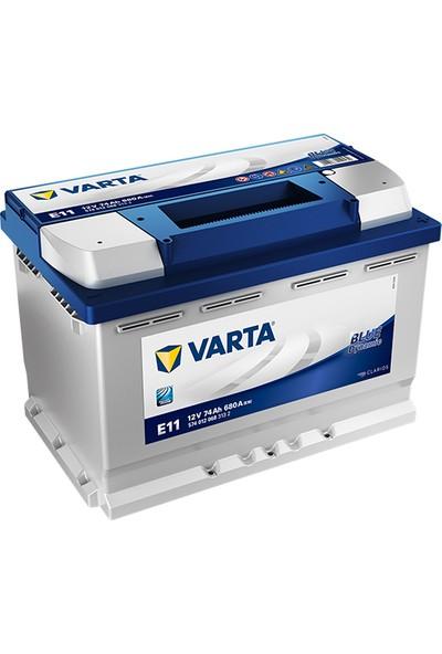 Varta E11 12 Volt 74 Amper 680 EN Blue Dynamic (Üretim Yılı: 2021)