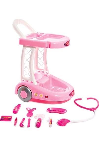 Furkan Toys Arabalı Işıklı Doktor Seti FR55399