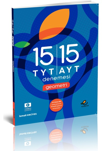 Endemik Yayınları 15 TYT 15 AYT Geometri Denemesi