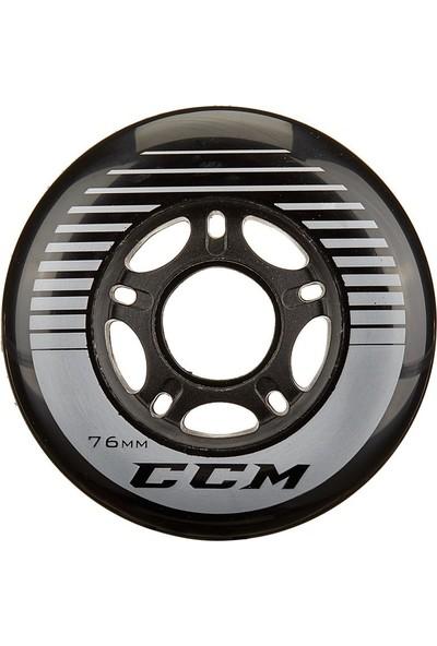 Ccm Replace Wheel Black 76 mm Hokey Tekerlek