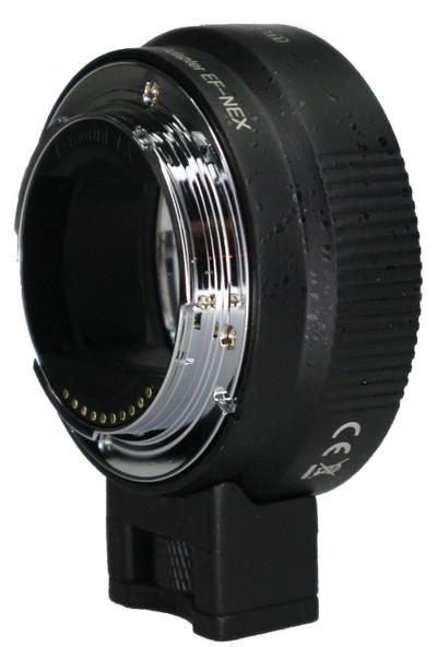 Mettzchrom Lens Adaptörü Ef-Nex Lens Adaptörü Sony E Gövde Için Canon Ef/ef-S Lens Adaptörü