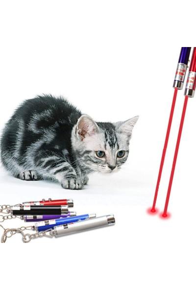 Serel Metal Fener Kedi Oyuncak Lazeri 3 Aşamalı