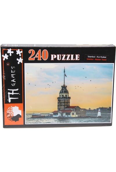 Th Games Istanbul Kız Kulesi Puzzle 240 Parça