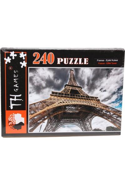 Th Games Fransa Eyfel Kulesi Puzzle 240 Parça
