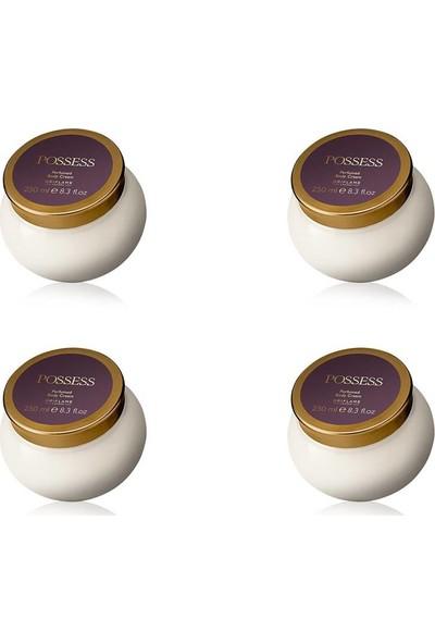 Oriflame Possess Parfümlü Vücut Kremi 250 ml - 4 Adet