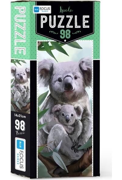 Blue Focus 98 Parça Puzzle Koala