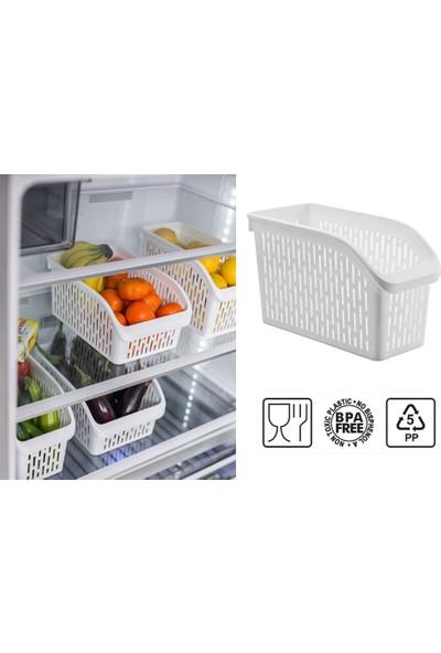 Sas Buzdolabı Düzenleyici Dolap Içi Organizer 4'lü