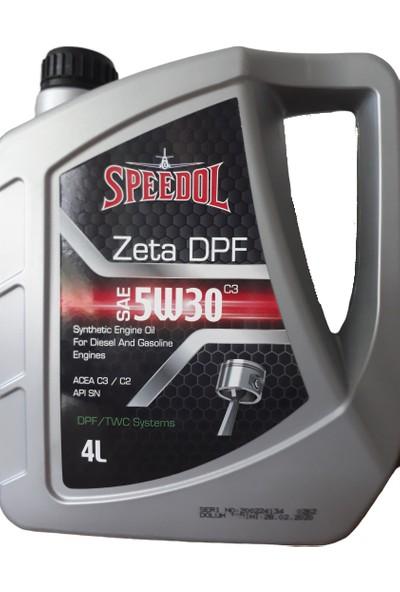 Speedol Motor Yağı 5W30 4 lt Partaküllü