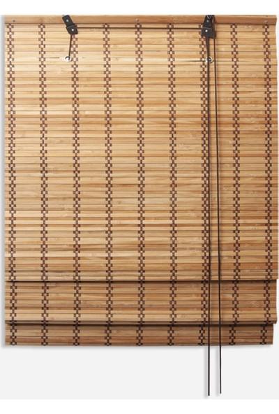 Linadora Katlamalı Bambu Stor Adramis