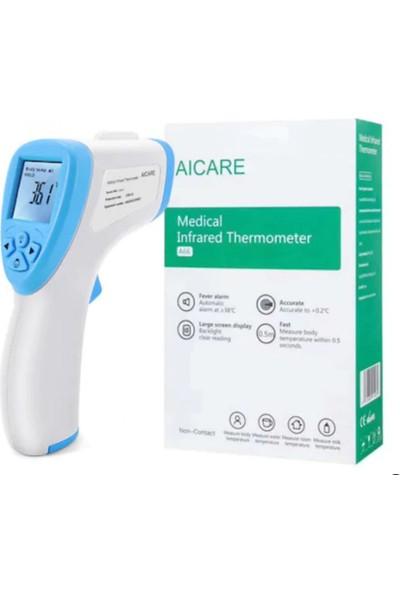 Aicare A66 Ateş Ölçer Temassız Ateş Ölçer Digital Termometre