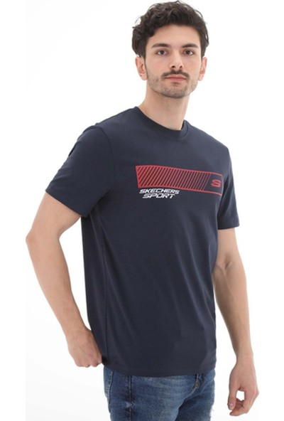 Skechers Graphic Tees Erkek T-Shirt S201197-036