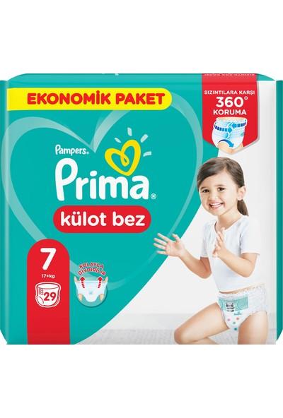Prima Külot Bebek Bezi 7 Beden 29 Adet XX Large Ekonomik Paket