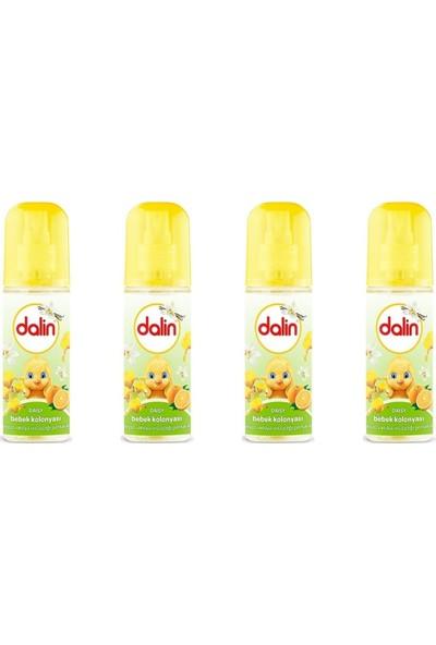 Dalin Bebek Kolonyası Daisy 150 ml Sprey x 4 Adet