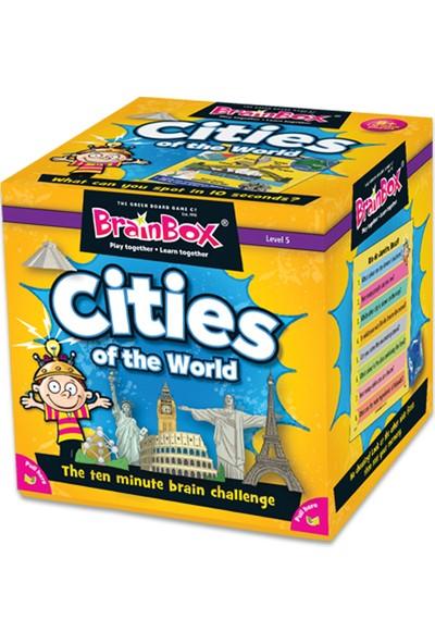 Green Board Games BrainBox Cities Of The World İngilizce Hafıza Oyunu