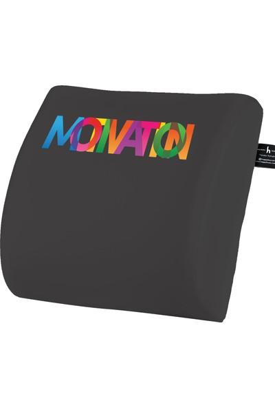 Happy Hours Motivasyon Ortopedik Ofis Araba Bel Destek Yastığı Sırt Minderi