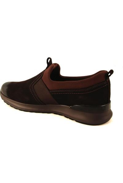 Forelli 43601 Erkek Kahverengi Nubuk Comfort Ayakkabı