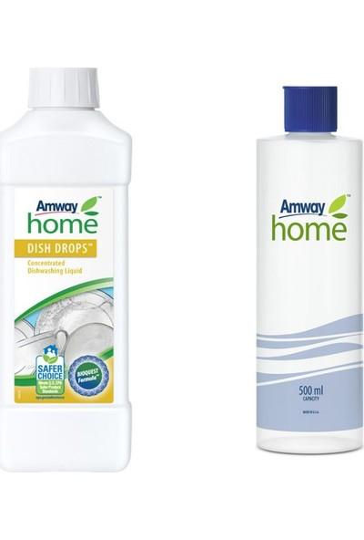 Amway Konsantre Sıvı Bulaşık Deterjanı Dısh Drops + Özel Kapaklı Şişe