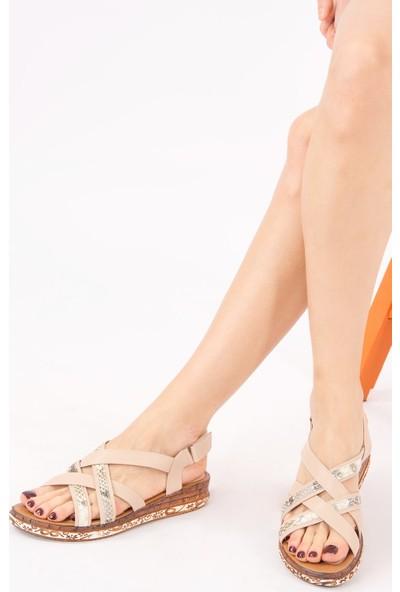 Fox Shoes Ten Kadın Sandalet H288094109