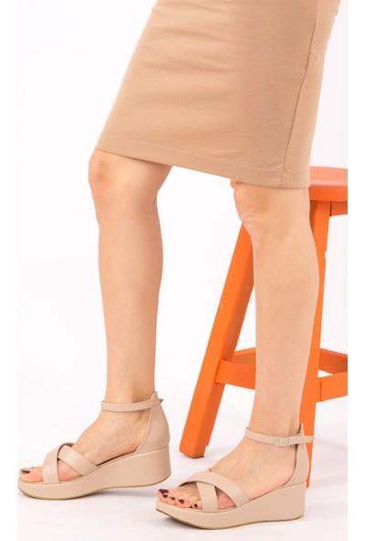 Fox Shoes Ten Kadın Sandalet H820500109