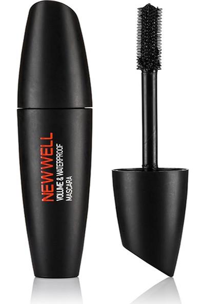 New Well Mascara - Volume&waterproof - Hacim Veren Suya Dayanıklı